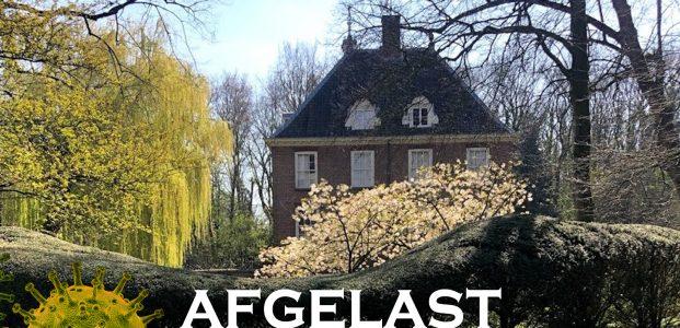 Rijnhuizen Buitengewoon 2021 afgelast